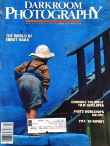 Cover of Darkroom Photography Magazine, May/June 1986.