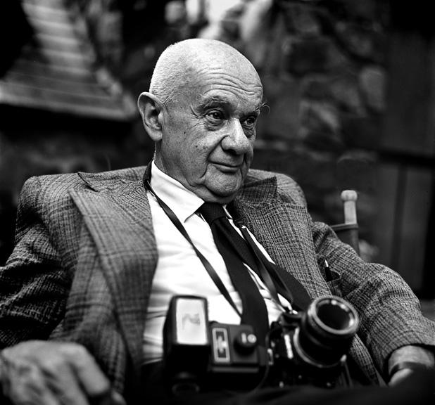 Roman Vishniac, 1977. Photo by Andrew A. Skolnick.